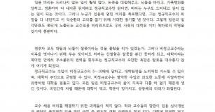[4.23] 비정규교수 처우 개선하여 교수채용비리 …